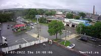 Ussurijsk: Уссурийск - Приморский край, Россия: Тургенева  Вид на перекресток улиц Тургенева - Комсомольская - Actuales