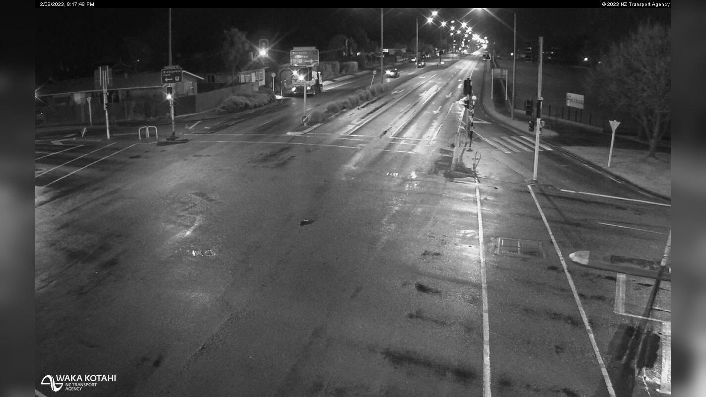 Webkamera Harewood › North: SH74 Marshland, Christchurch