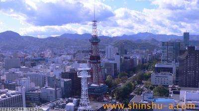 Tageslicht webcam ansicht von Sapporo