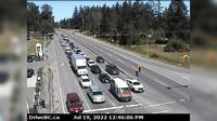 Saanich › North: , Hwy  at Sayward Road, looking north - Aktuell