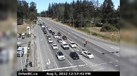 Saanich › North: , Hwy  at Sayward Road, looking north - Dagtid