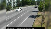 Saanich > East: , Hwy  northbound at - Rd, looking east - Actuelle