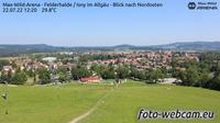 Isny im Allgau: Max-Wild-Arena Isny - Blick nach Nordosten - Actuales