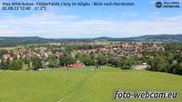 Isny im Allgau: Max-Wild-Arena Isny - Blick nach Nordosten - El día