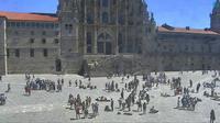 Santiago de Compostela: Praza do Obradoiro - Overdag