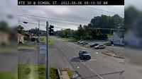 Mayfield › South: Rte  at School St - Day time