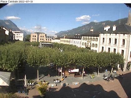 webcam martigny place centrale