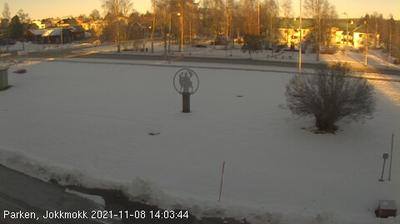 Daylight webcam view from Jokkmokk