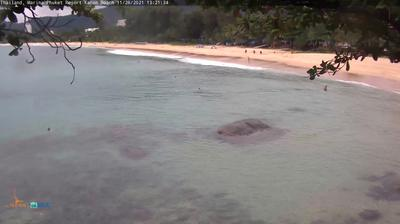 Current or last view from Karon: Karon Beach