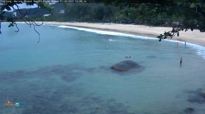 Daylight webcam view from Karon: Karon Beach