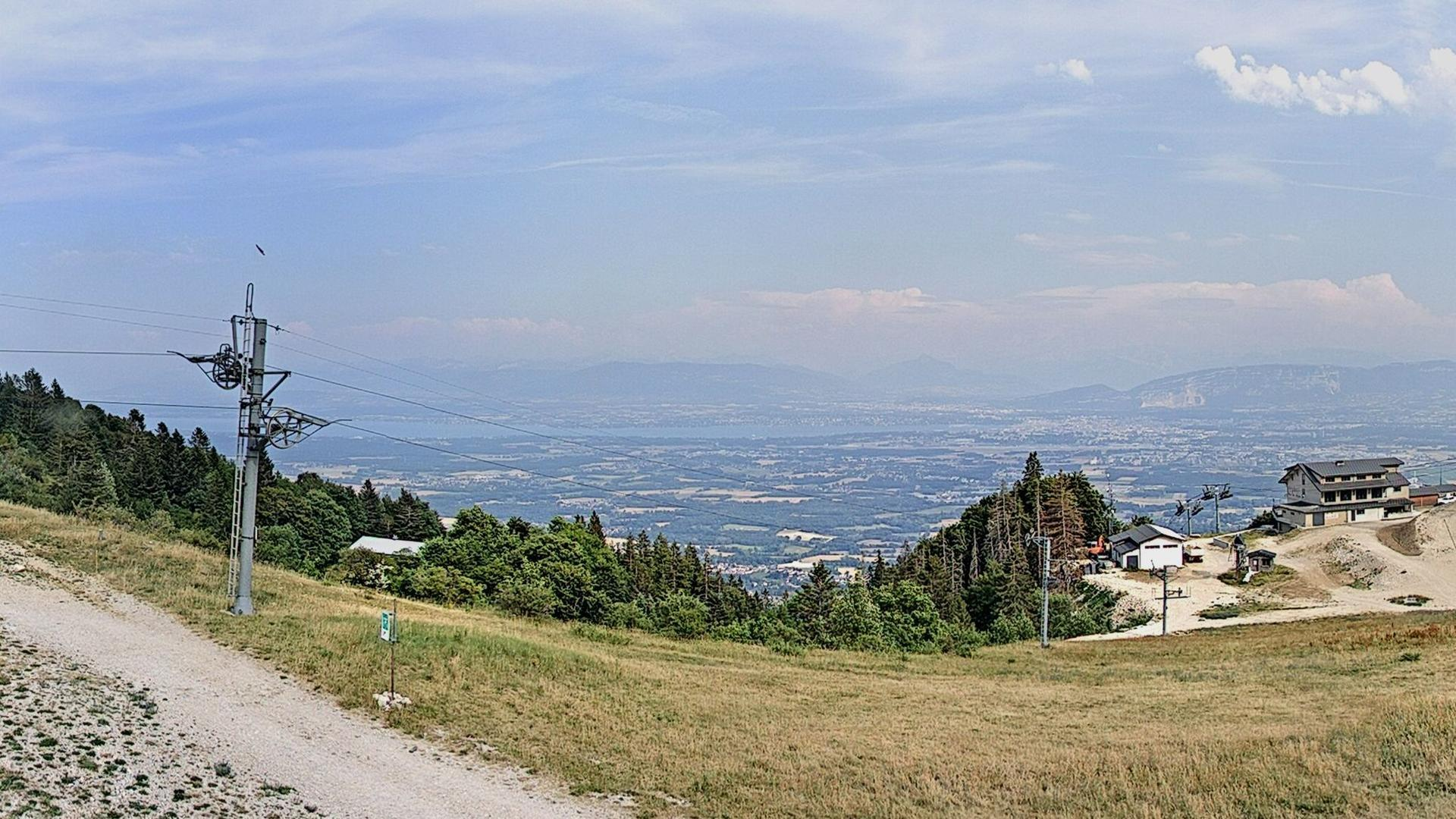 Webcam Crozet: Panoramique