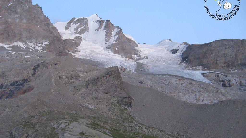 Webcam Gran Paradiso: Rifugio Chabod al