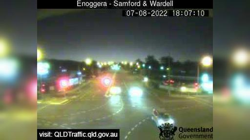 Webcam Mitchelton: Enoggera − Samford Road and Wardell St