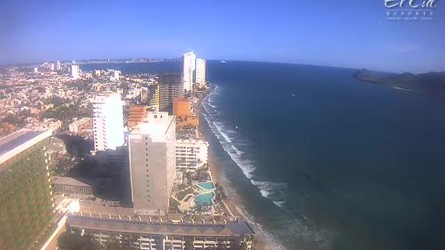 Webkamera Mazatlán: Panoramic view of