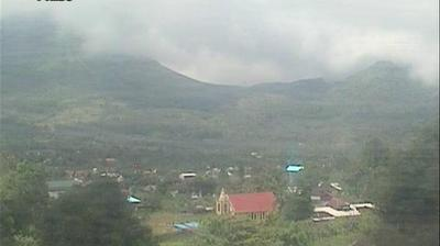 Daylight webcam view from Manado: Lokon Volcano Activity