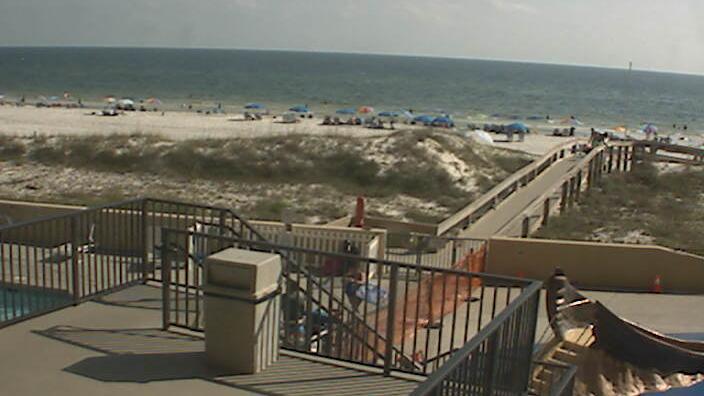 Webcam Gulf Shores: Beach