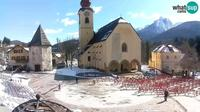 Tarvisio: Unit� Square - SS.Pietro and Paolo Apostoli Church - Dia
