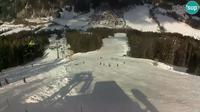 Dernière vue de jour à partir de Kranjska Gora: Podkoren − Start Giant slalom