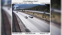 Jackson: I- at Siskiyou Exit - Day time