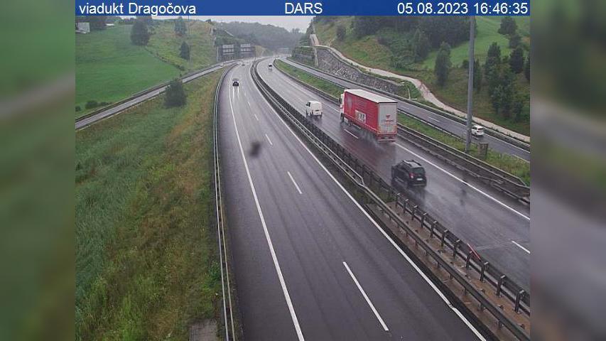 Webkamera Dragučova: A1, Maribor − vzhodna obvoznica, viaduk