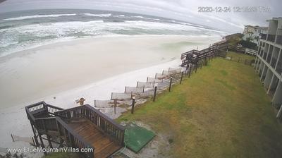 See Blue Mountain Beach South West FL Live Webcam