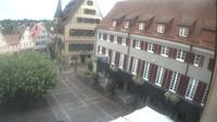 Bietigheim-Bissingen: Bietigheimer Altstadt mit Blick Rathaus und Arkaden - Recent