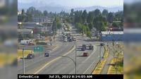 Abbotsford > North: , Hwy  at Clearbrook Rd, looking north - Actual