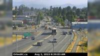 Abbotsford > North: , Hwy  at Clearbrook Rd, looking north - Current