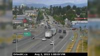 Abbotsford > North: , Hwy  at Clearbrook Rd, looking north - El día