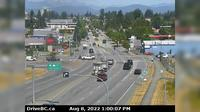 Abbotsford > North: , Hwy  at Clearbrook Rd, looking north - Day time