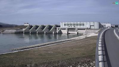 Webcam Brežice: Hydroelectric power plant − HSE