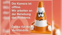 Pressbaum: A, bei ASt - Blickrichtung Wien - Km ,