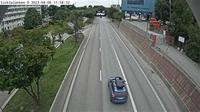 Sodermalms stadsdelsomrade: Sicklal�nken � (Kameran �r placerad p� v�g  S�dra l�nken i h�jd med Hammarby sj�stad och �r riktad mot Nacka) - Day time