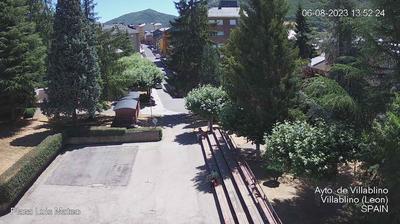 Tageslicht webcam ansicht von Villablino › East