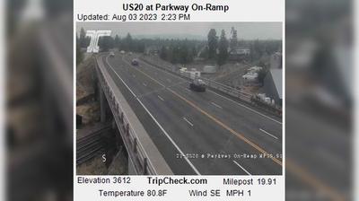 Thumbnail of Bend webcam at 7:06, Apr 23