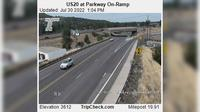 Bend: US at Parkway On-Ramp - Overdag