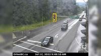 Alpine Meadows > South: , Hwy  at Alpine Way, looking south - Recent