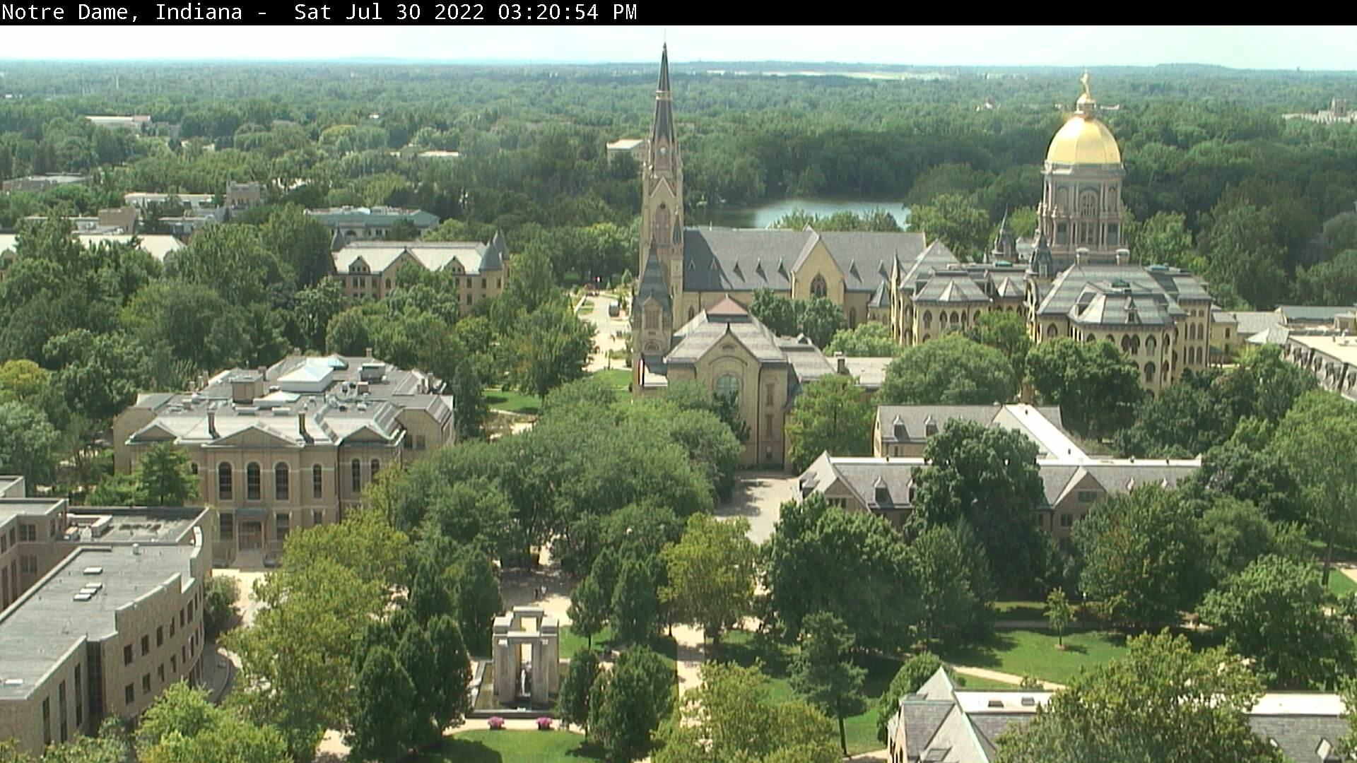 Webcam Argos: University of Notre Dame