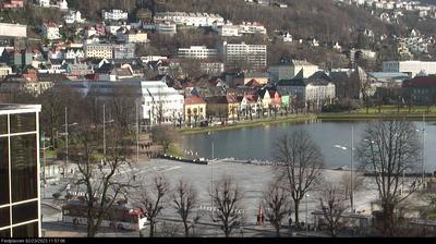 Vue webcam de jour à partir de Bergen: Festplassen − Vågen