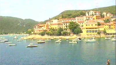 Daylight webcam view from Rabac