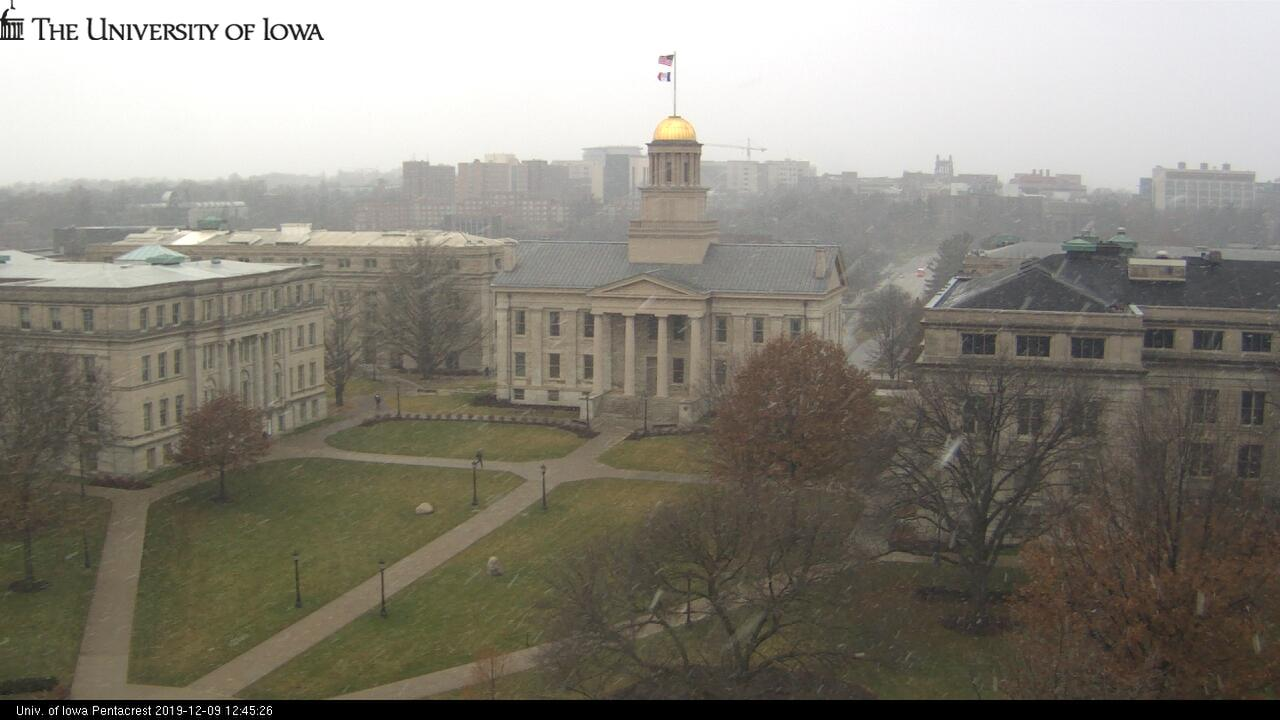Webcam Iowa City: The University of − Campus live webcam