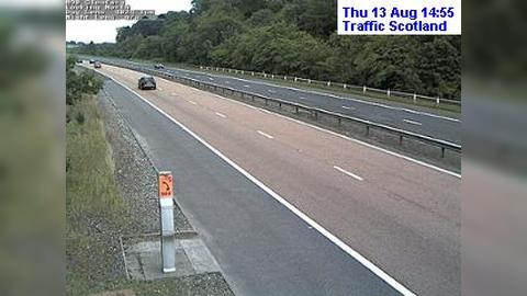 Webcam Perth: M90 Glenfarg live traffic webcam North − an