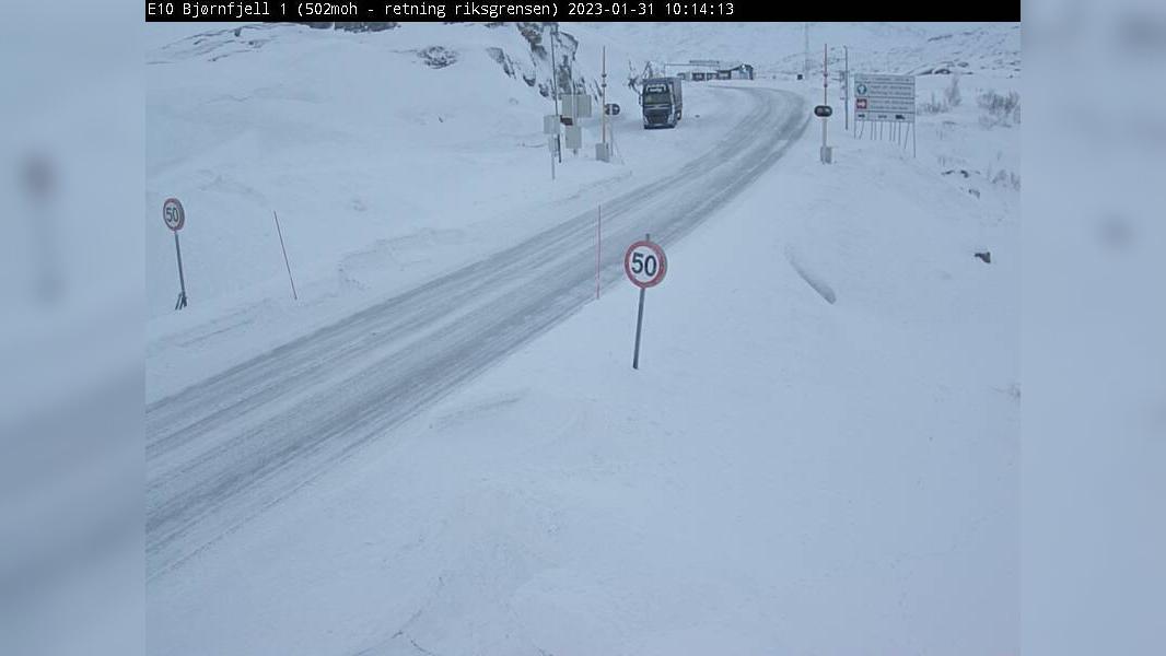 Webkamera Bjørnfjell: E10 − 502 moh