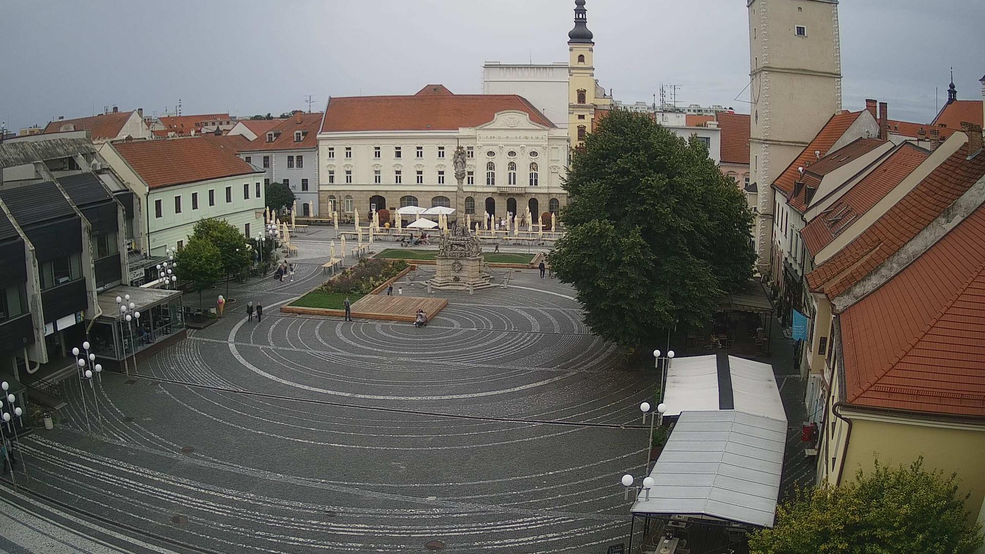 Webcam Trnava: Trojičné námestie