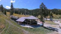Risoul: front de neige - Jour