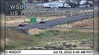 Ritzville › West: I- at MP : US  Interchange - Current
