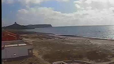 Webkamera San Giovanni di Sinis › South-West: spiaggia delle