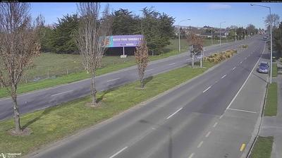 Daylight webcam view from Chaneys › South: SH1 Dickeys Rd South, Christchurch