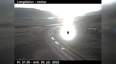 Current or last view from Raufarhofn: Héðinsfjarðargöng Ólafsfjarðarmegin