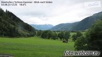 Kammer: Maishofen - Schloss - Blick nach S�den - Dagtid
